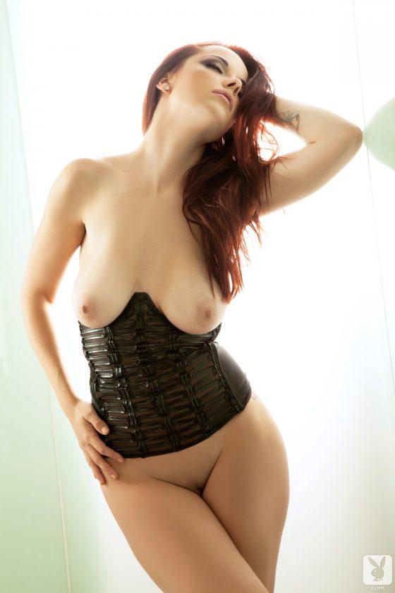 Elizabeth Marxs Nude In Rooftop Tease Playboy Model Pictures